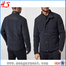 Latest Computer Pictures New Model Dongguan Men Down Work Jacket