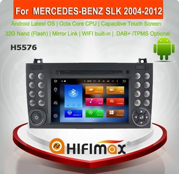 HIFIMAX Android 6.0 Car DVD GPS For Benz SLK 171 2004-2012 Car GPS Navigation System for Benz SLK200/SLK280/SLK350/SLK55
