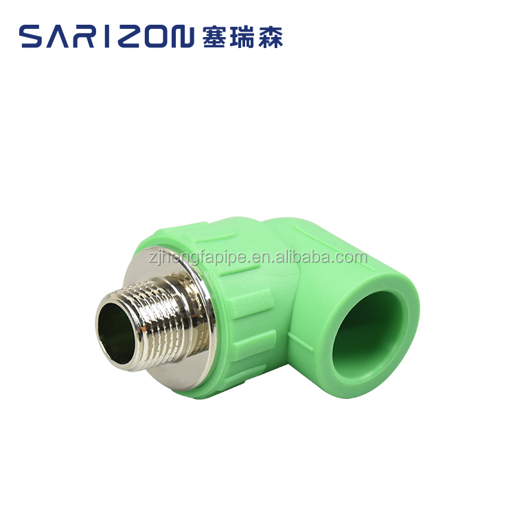 Sarizon Plastic PPR Pipe Fitting Connector 90 Degree Elbow Pipe