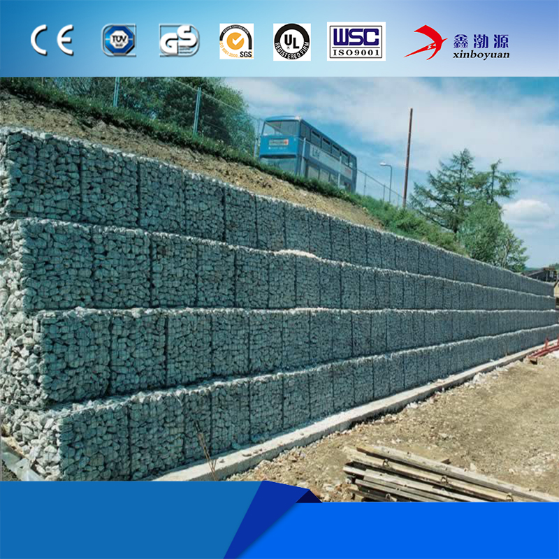 Alibaba direct factory hexagonal Hole Shape wire cages rock retaining wall gabion metal box folding