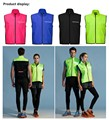 Accept low MOQ cycling jacket professional bike cycling wear gilet