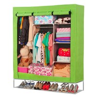 Huge size with high foot non-woven fabric portable closet