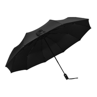 "23""10K 3 FOLDING UMBRELLA WITH BETTER WINDPROOF CAN CUSTOM LOGO"