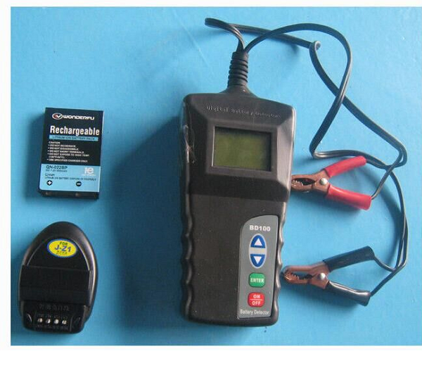 Auto Battery Tester Product : Rechargeable automotive digital battery load tester v