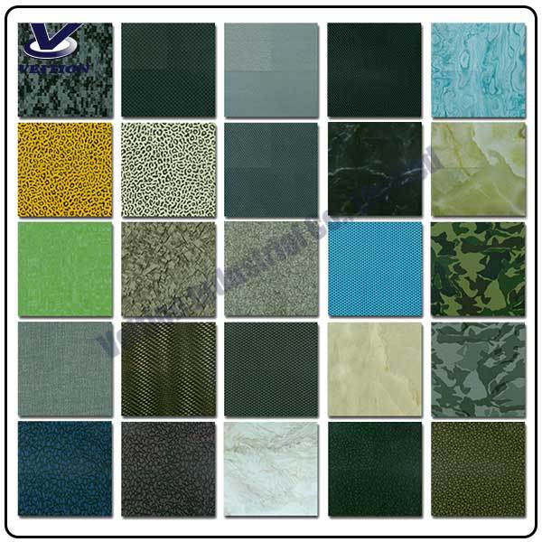 VEITION hydrographic film / pva water transfer printing film / hydro dipping film