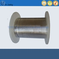 high purity 99.995% In metal wire/Indium wire for vacuum metalizing use