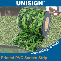 New Printed PVC strip screen for protection fence