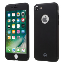 For iPhone 7 JOYROOM All-wrapped 2-in-1 Hard Phone Case + Screen Protector