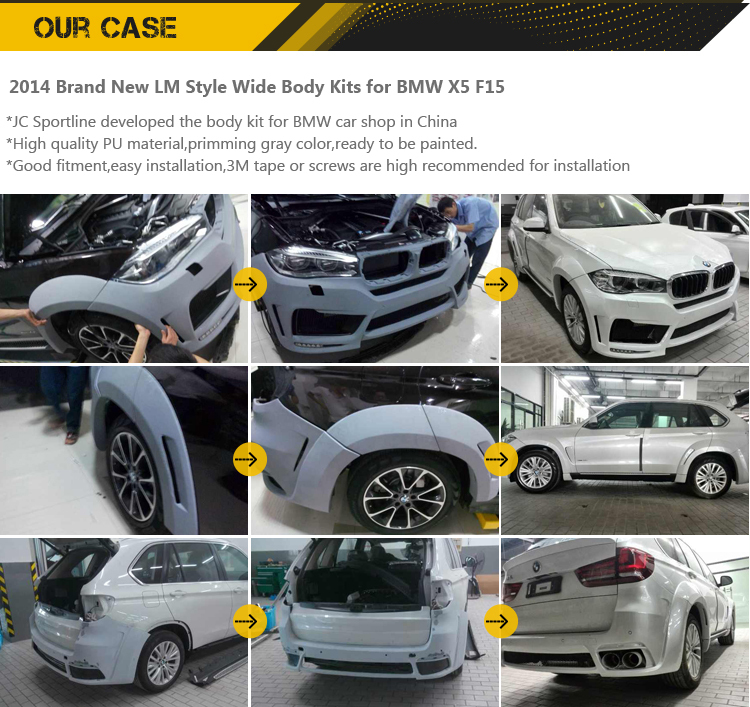 W218 CLS63 Car Racing Tuning Auto Body kit For Mercedes Ben z AMG 2011-2013