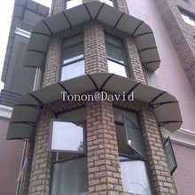 foshan tonon polycarbonate awnings manufacturer patio awning cover made in China