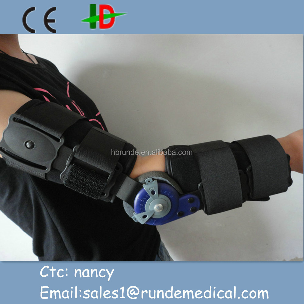 medical Orthopedic elbow support hinged elbow brace