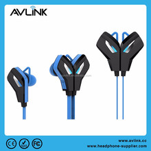 Logo customize waterproof wireless sport in-ear Bluetooth v4.1 aptX stereo headset for portable media player