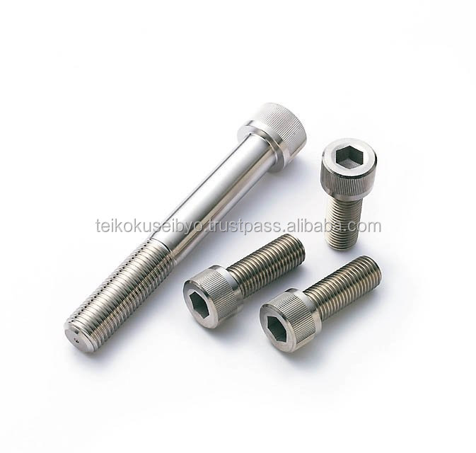 stainless steel hexagon socket head cap screw A2-50 jis b 1176