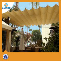alibaba expressShade Sail Canopy 18' Tan Oversize Square Sun Shade Patio Yard Cover UV New