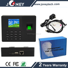Hot fingerprint time clock machine biometric Employee time attendance machine