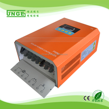 JNGE factory direct sales high power 50a 96v solar controller with dc output LCD display