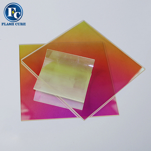 High temperature uv window radiation quartz plate optical glass plates
