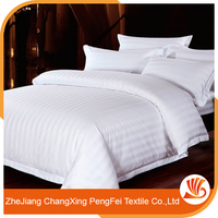 Special supply stripe dobby bedsheet/bedding fabric for hotel