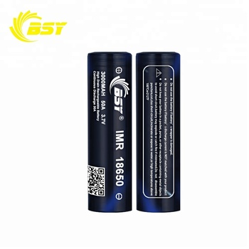 China's best-selling bsy 18650 50A 3000mAH 3.7V li-ion battery