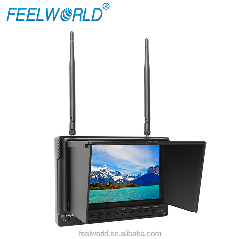 FEELWORLD new arrival <strong>10</strong>.1inch diversity 5.8ghz FPV monitof for gas helicopter