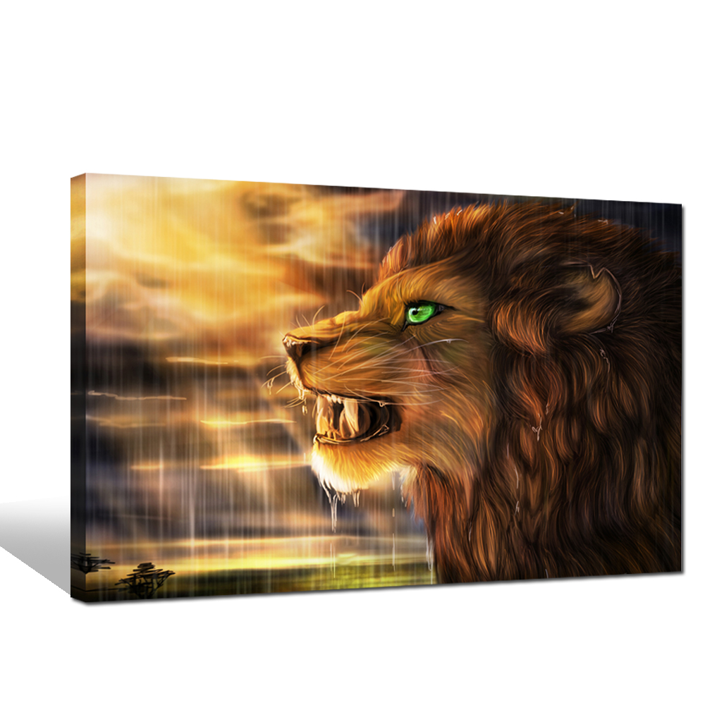 Home Decor Animal Painting With High Quality Canvas