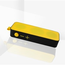 8ohm 6w laptop usb mp3 player plastic rectangle outdoor portable speaker with wireless mic