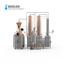 Factory Price Alcohol Column Distillation Equipment with Copper Still