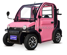 Mini electric car elactric automobile pink