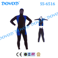 Chinese Factory Wholesale Neoprene Material Diving Separate Wetsuit
