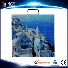 LED display screen / paper thin LED screen china Sunrise factory supply