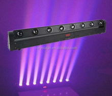 8 Pieces 10W Quad in 1 LED Beam Bar Moving Head Lighting