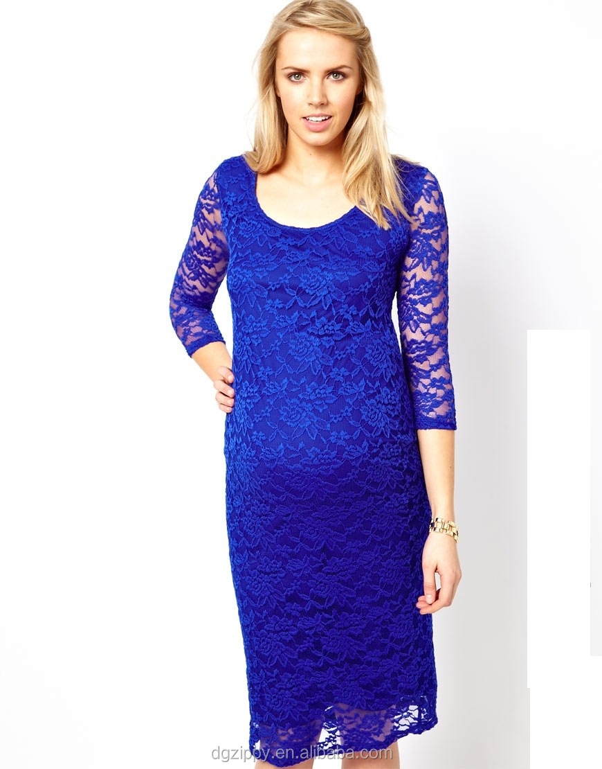 34 sleeves round neck lace tight maternity dress outdoor 34 sleeves round neck lace tight maternity dress outdoor maternity clotheswholesale maternity ombrellifo Gallery