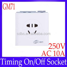 Electrical Plugs Sockets multi-function EP timer GM71 with timing on off function
