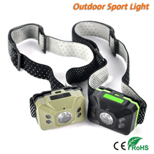 Mini 200 Lumen R5 5 LED AAA 6 Mode Waterproof Headlamp Head Torch