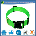 Wholesale Nylon Dog Collar with plastic buckle
