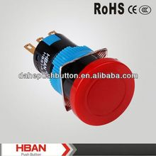 CE ROHS 12v led latching pushbutton switch