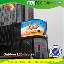 P7 outdoor smd billboard advertising led display cylindrical led display