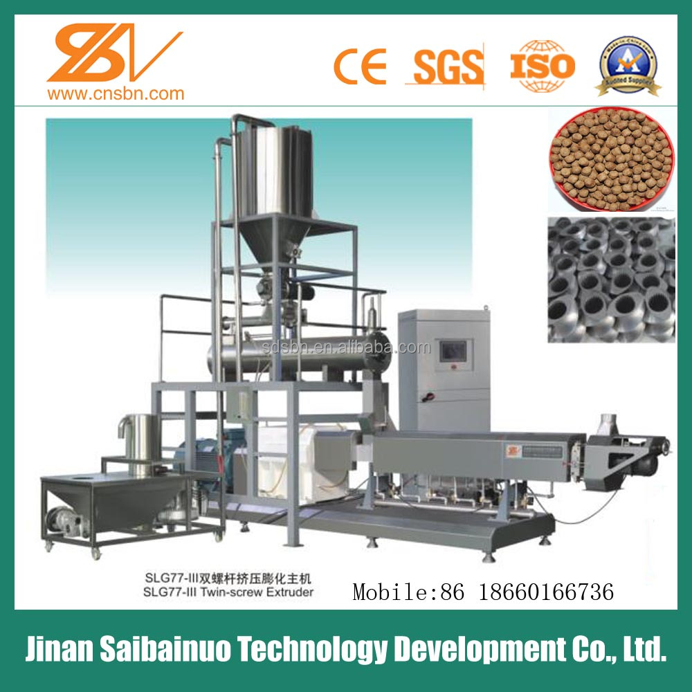 Automatic Floating/sinking Fish Feed Machine Line