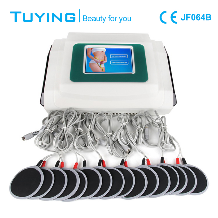 Hottest far infrared therapy BIO Lymphatic Drainage pressotherapy slimming machine