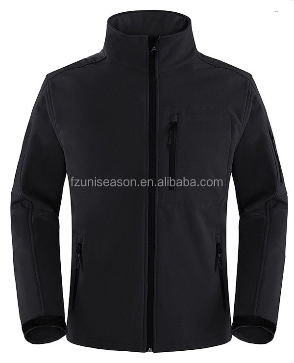 Uniseason Customized Crane Sports Sportswear Outdoor Softshell Winter Mens Hunting Jacket