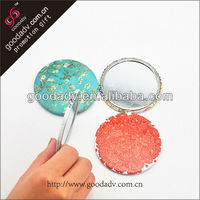 Soft PVC with travel tinplate mirror
