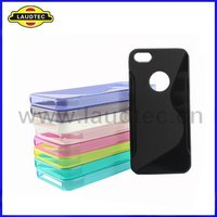 For iphone 5 S Line Wave TPU gel case cover NEW PRODUCT!!!!!!