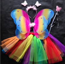 Colorful Hot Sell Wings Wholesale Fairy Wings Pattens For Kids&Teenagers