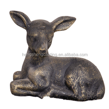 garden decoration cast iron deer