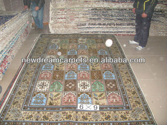 2015 Foshan new products persian silk carpet