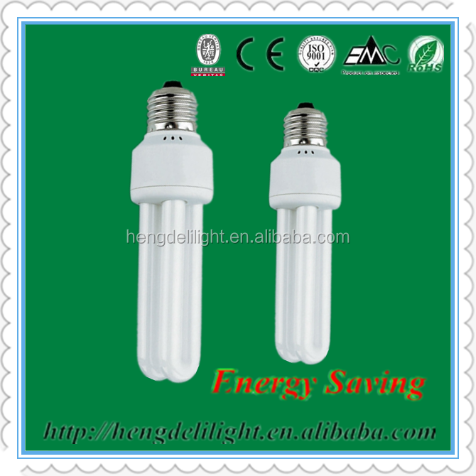 China supplier professional quality 2U energy saving lamps
