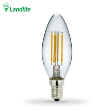 Landlite 3.5W LED Edison Bulb Lamp Custom E14 E27 Lighting Led Filament Bulb