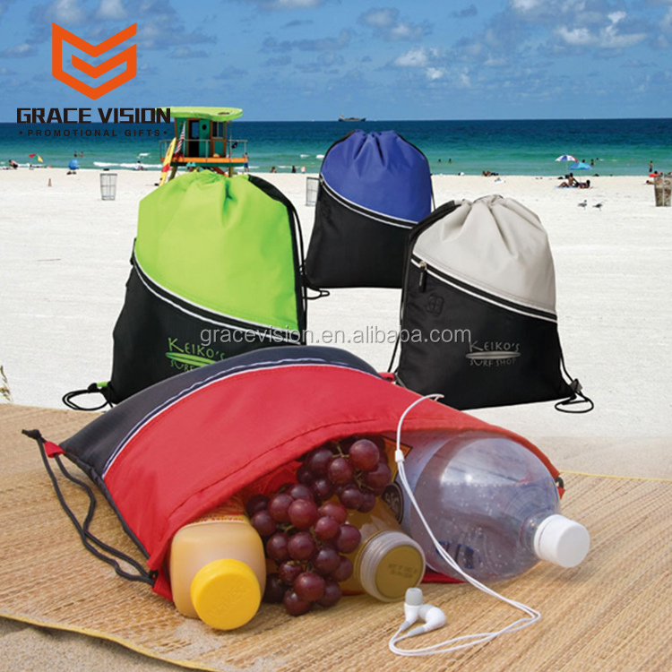 Cheap Wholesale Basketball Backpack Bags Gym Sack Drawstring Bag
