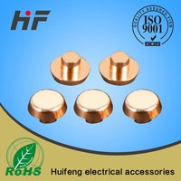 Electric silver contacts point Copper composite contact rivet