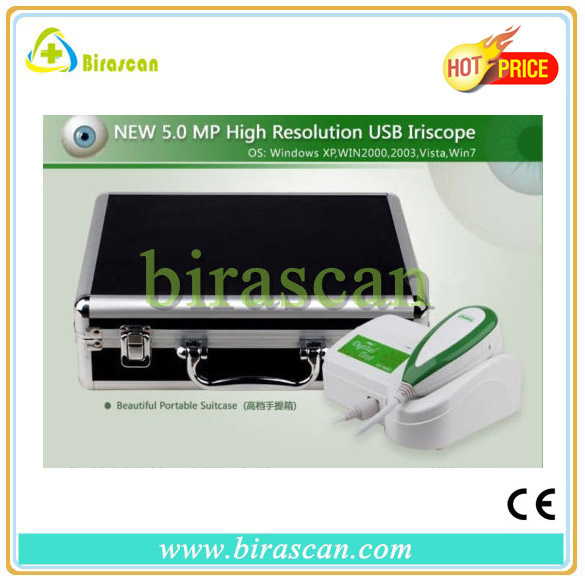 NEW 5.0 MP USB Iriscope Iridology Camera Iris Analyzer Iris Diagnosis System
